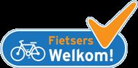 Logo fietsers welkom