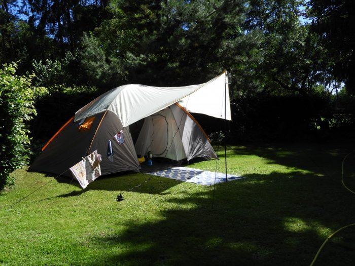 tent wildemansheerd