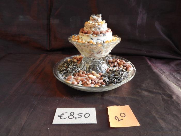 taartje met verhoging 20