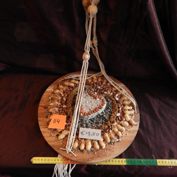 vogeltaart groot 114, hoogte touw 77cm